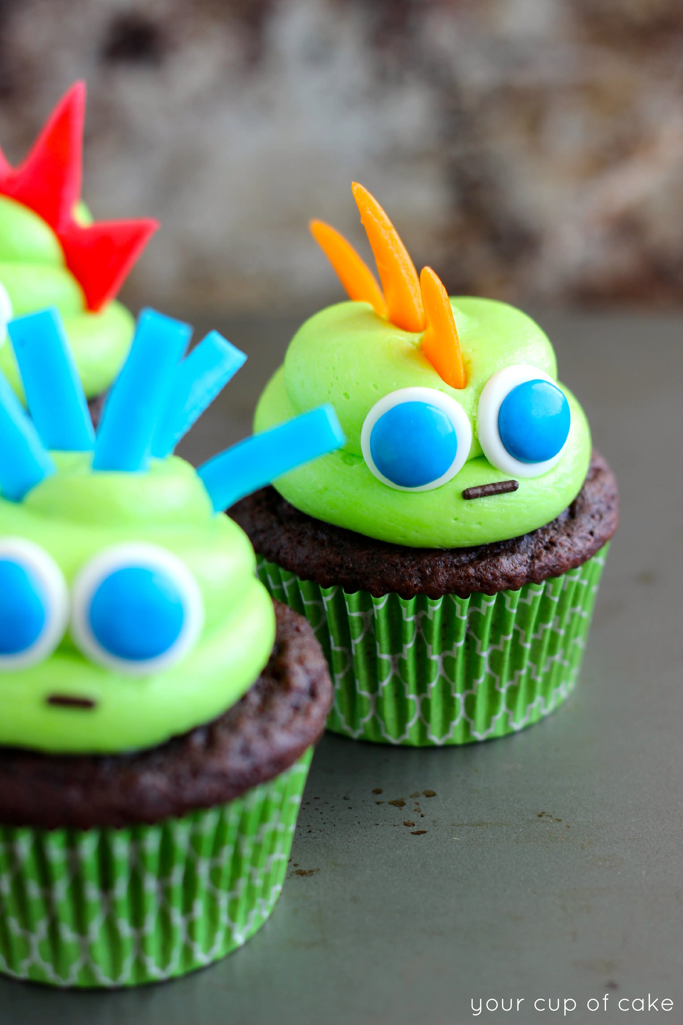 Picture Of Halloween Cupcakes  Easy Halloween Cupcake Ideas Your Cup of Cake