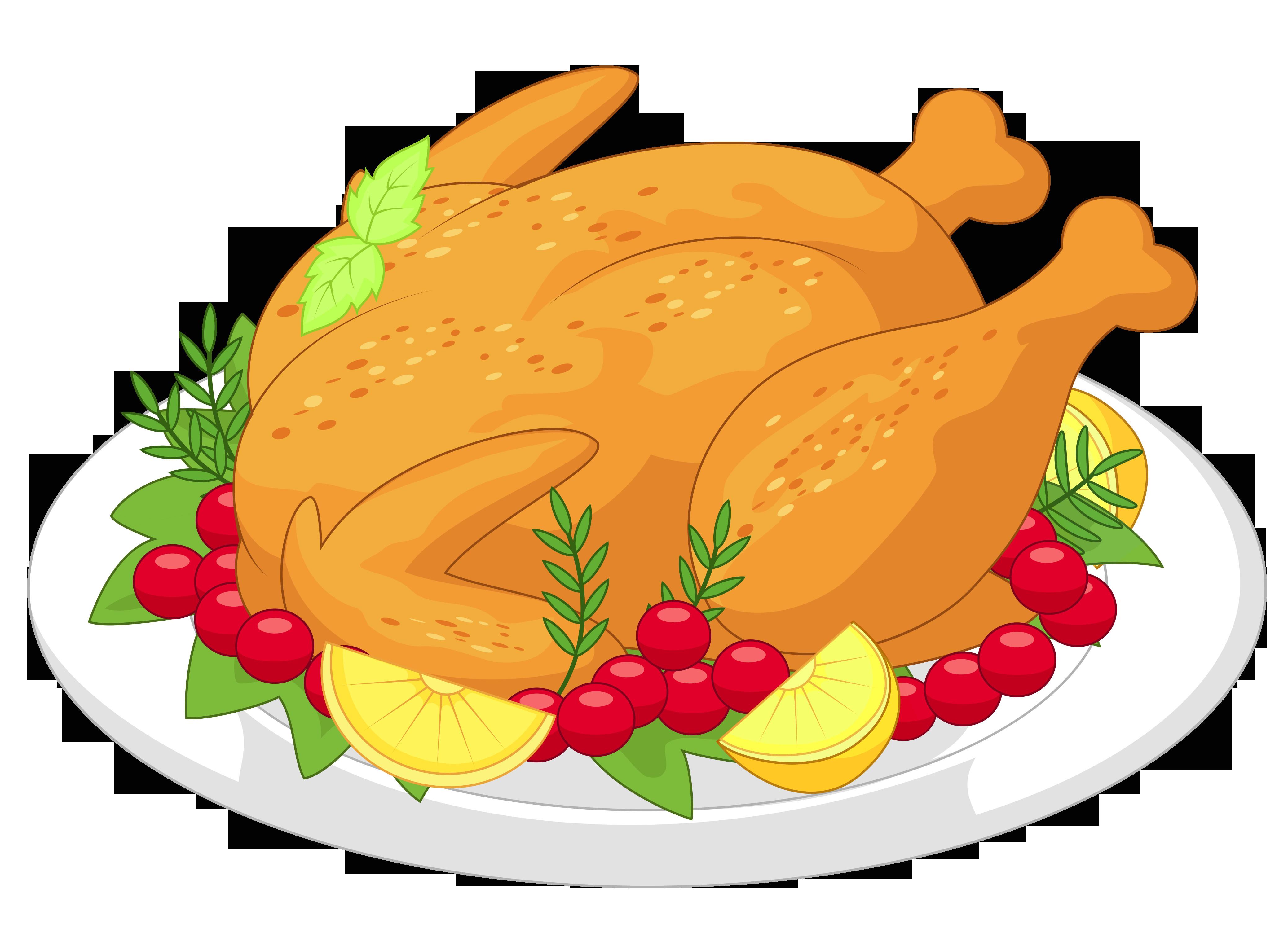 Picture Of Thanksgiving Turkey  Free Turkey Clip Art Clipartix