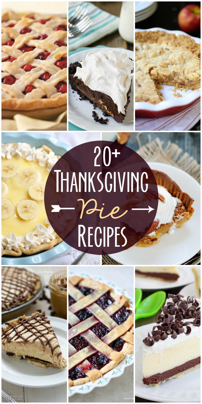 Pie Recipes For Thanksgiving  35 Thanksgiving Pie Recipes