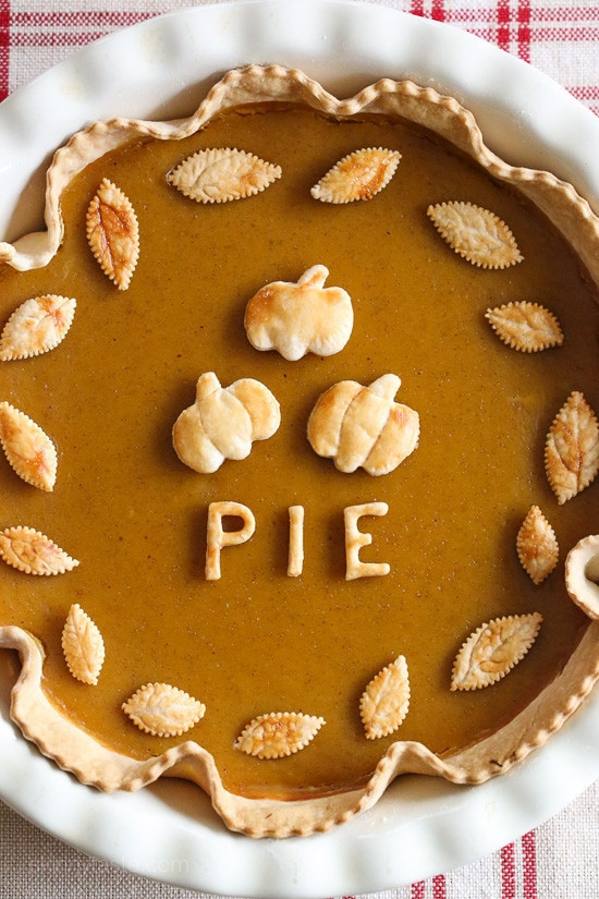 Pie Recipes For Thanksgiving  Skinny Pumpkin Pie Skinnytaste