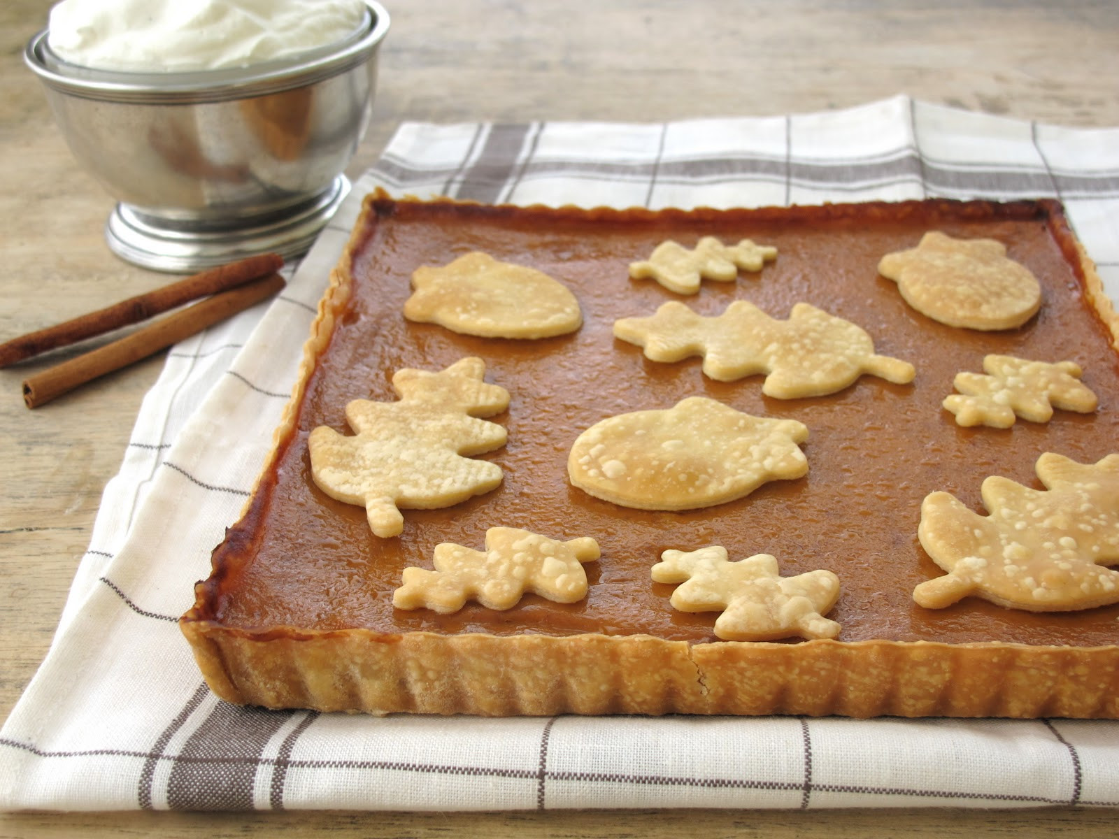 Pie Recipes For Thanksgiving  Jenny Steffens Hobick Pumpkin Cream Tart
