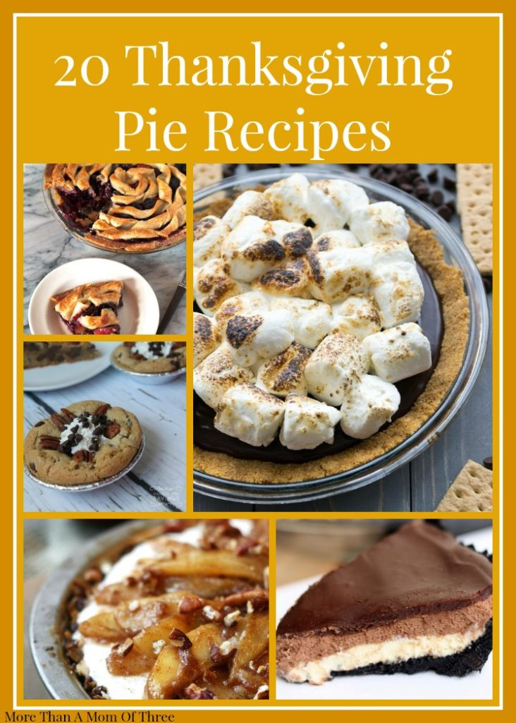 Pie Recipes For Thanksgiving  20 Thanksgiving Pie Recipes