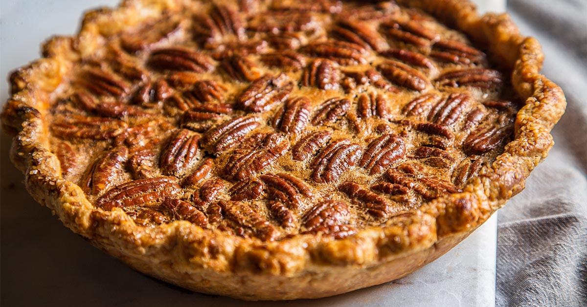 Pies For Thanksgiving  Recipe Chocolate Coffee Pecan Pie