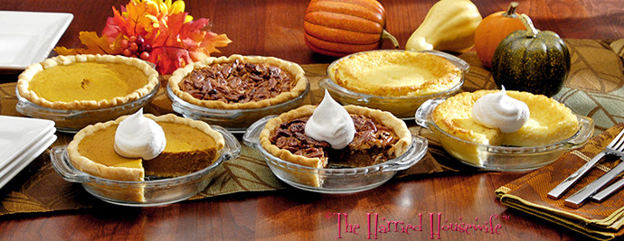 Pies For Thanksgiving  Easy Miniature Pies