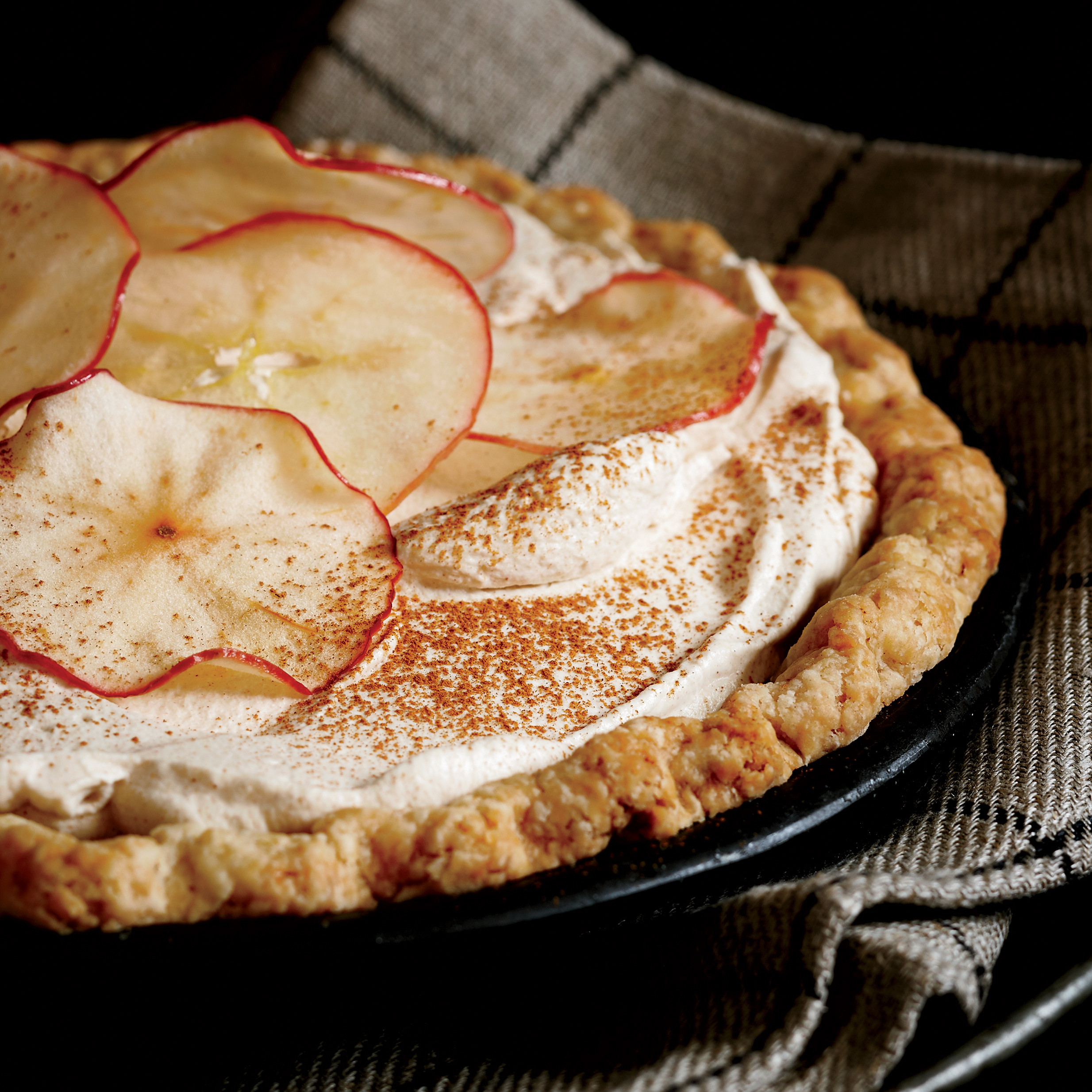Pies For Thanksgiving  Apple Cider Cream Pie Recipe Allison Kave
