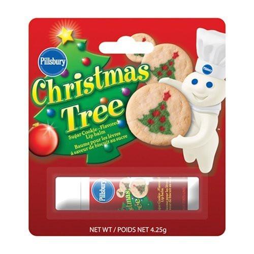 Pillsbury Christmas Tree Cookies  Amazon Pillsbury Lip Balm Sugar Cookies Flavor