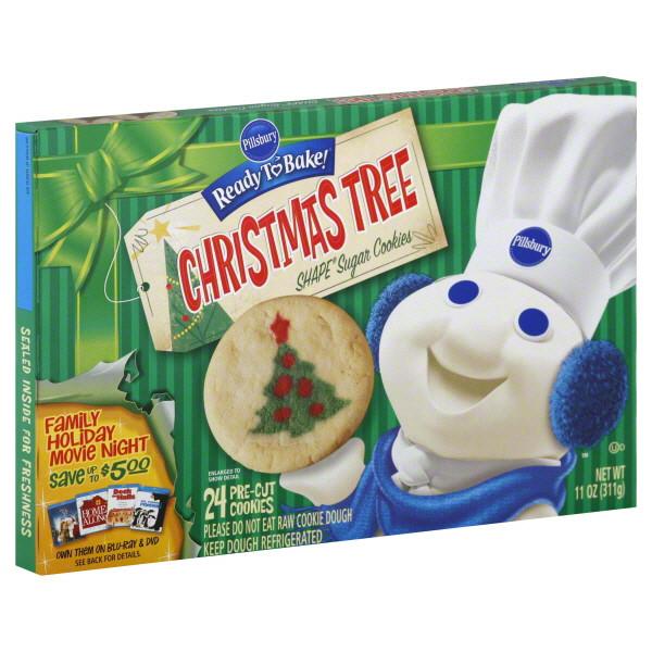 Pillsbury Christmas Tree Cookies  Pillsbury Christmas Cookies House Cookies