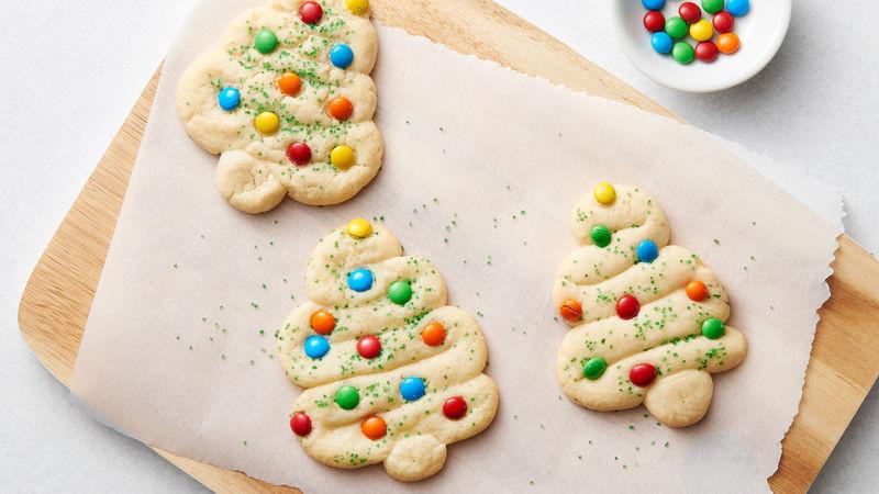 Pillsbury Christmas Tree Cookies  Swirly Christmas Tree Cookies Recipe Pillsbury