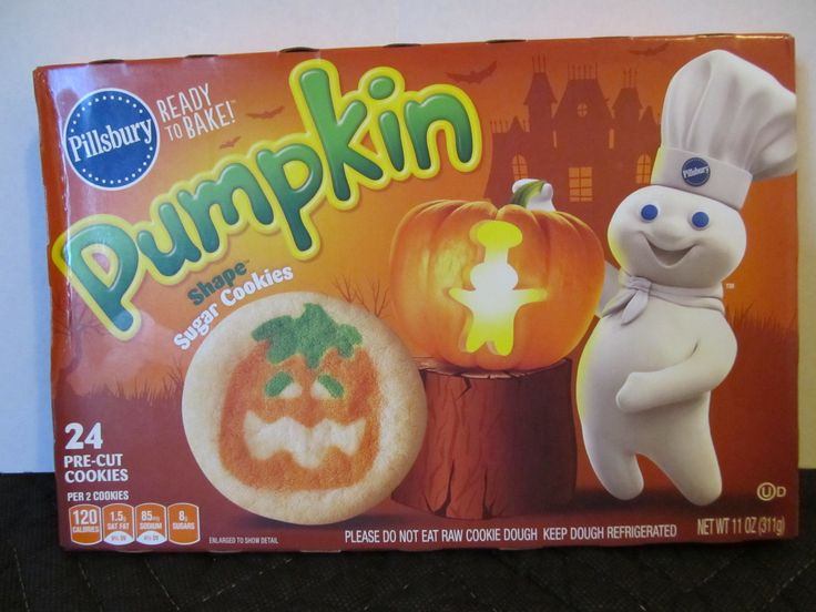 Pillsbury Dough Boy Halloween Cookies  17 Best images about Halloween Food Packages on Pinterest