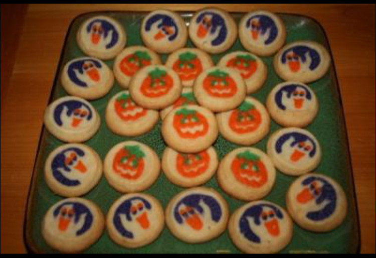 Pillsbury Dough Boy Halloween Cookies  HALLOWEEN COOKIES WITH PUMPKINS OR GHOSTS ON THEM on The Hunt