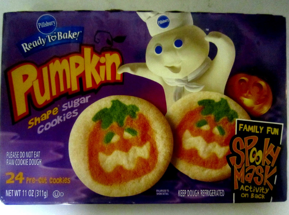 Pillsbury Dough Boy Halloween Cookies  The Holidaze Pillsbury Halloween Cookies