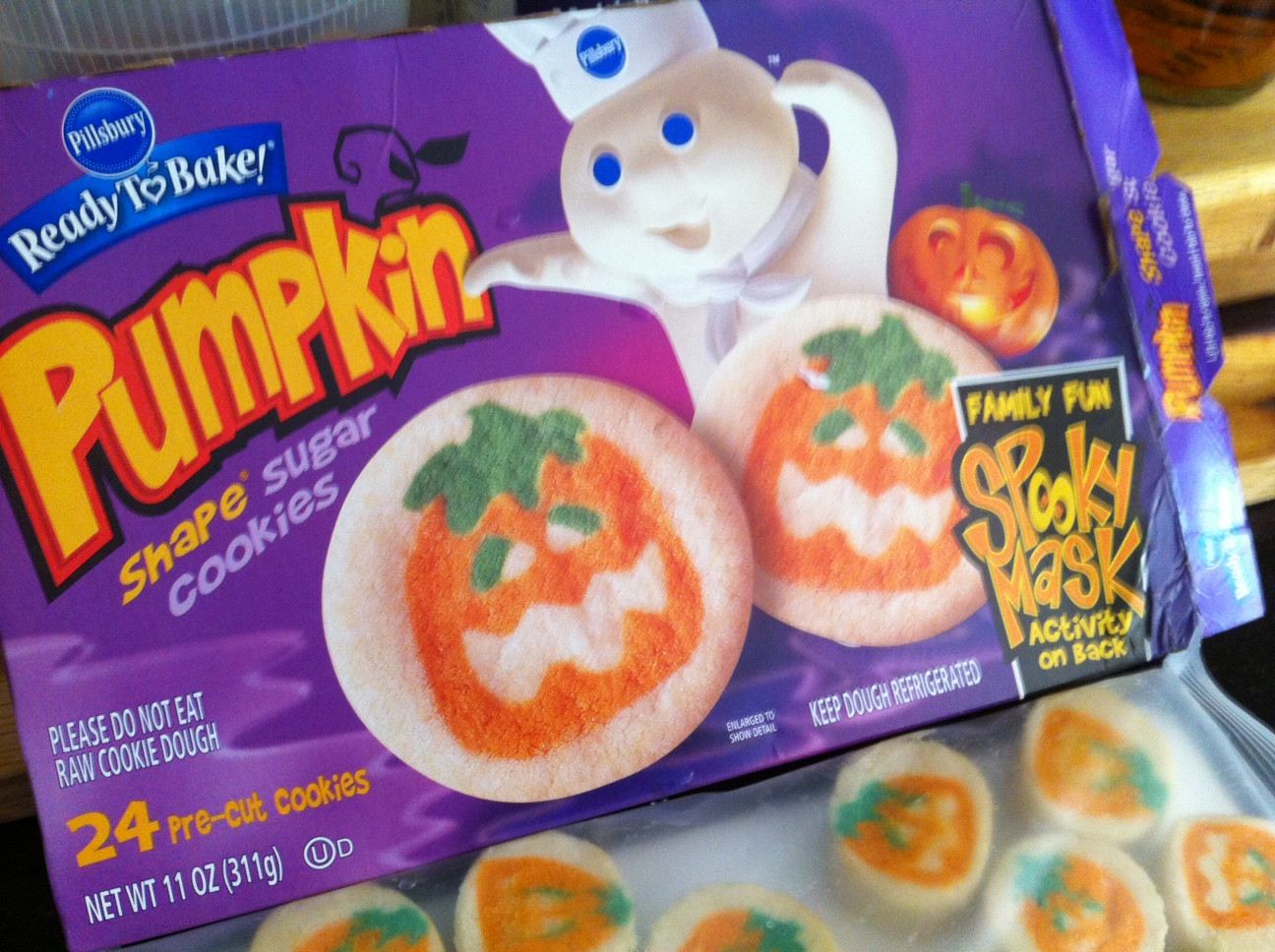 Pillsbury Dough Boy Halloween Cookies  Pillsbury Ephemeral Edibles