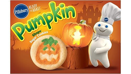 Pillsbury Dough Boy Halloween Cookies  60 best images about FALL Fun AUTUMN on Pinterest