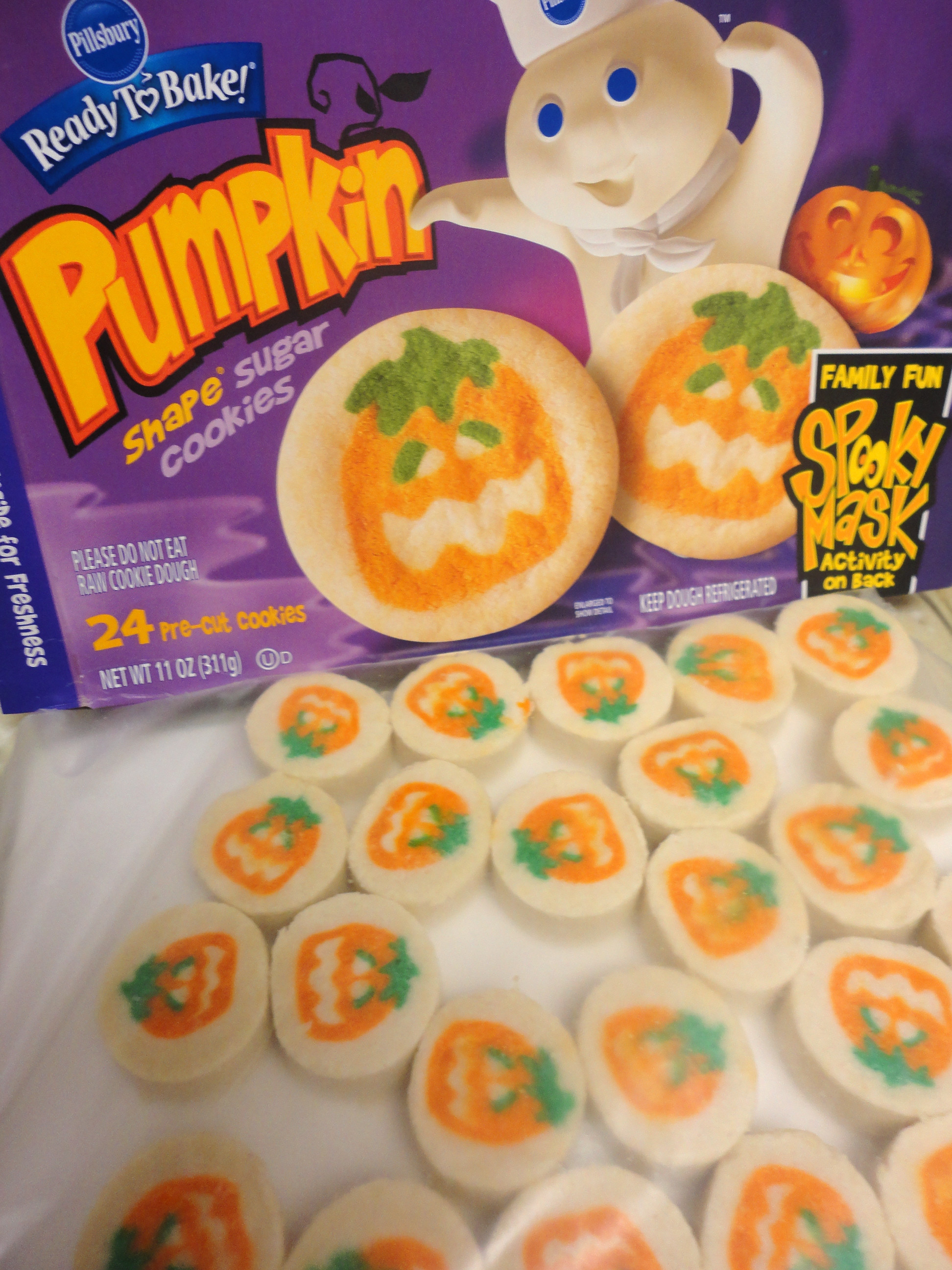 Pillsbury Dough Boy Halloween Cookies  Halloween Cookies