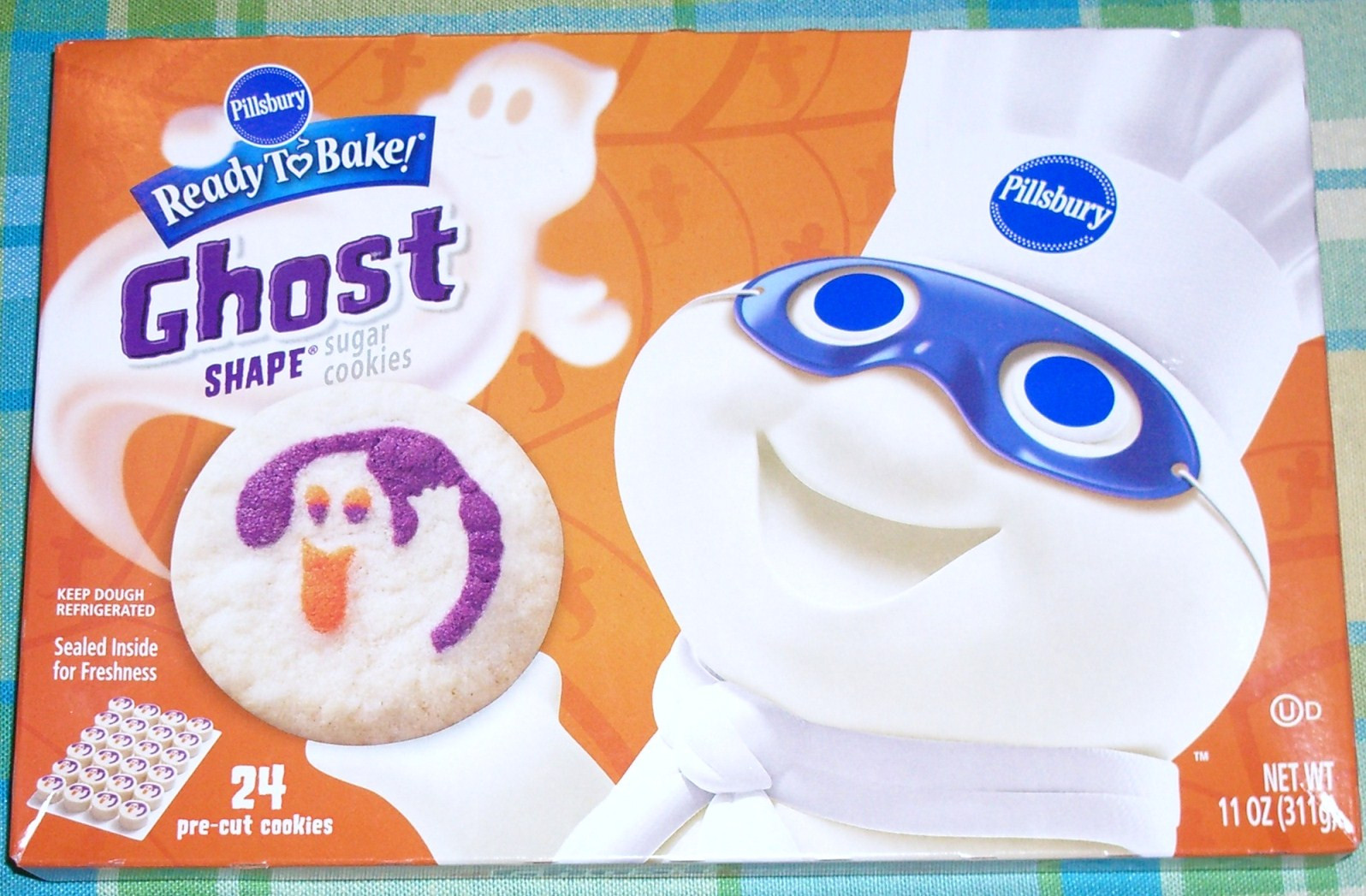 Pillsbury Dough Boy Halloween Cookies  A trip to the grocery store