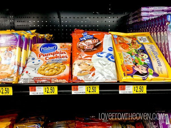 Pillsbury Halloween Cookies Walmart  Fun Fall Food Finds at Walmart Love From The Oven