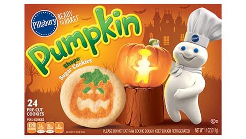 Pillsbury Halloween Cookies Walmart  Pillsbury™ Shape™ Pumpkin Sugar Cookies Pillsbury