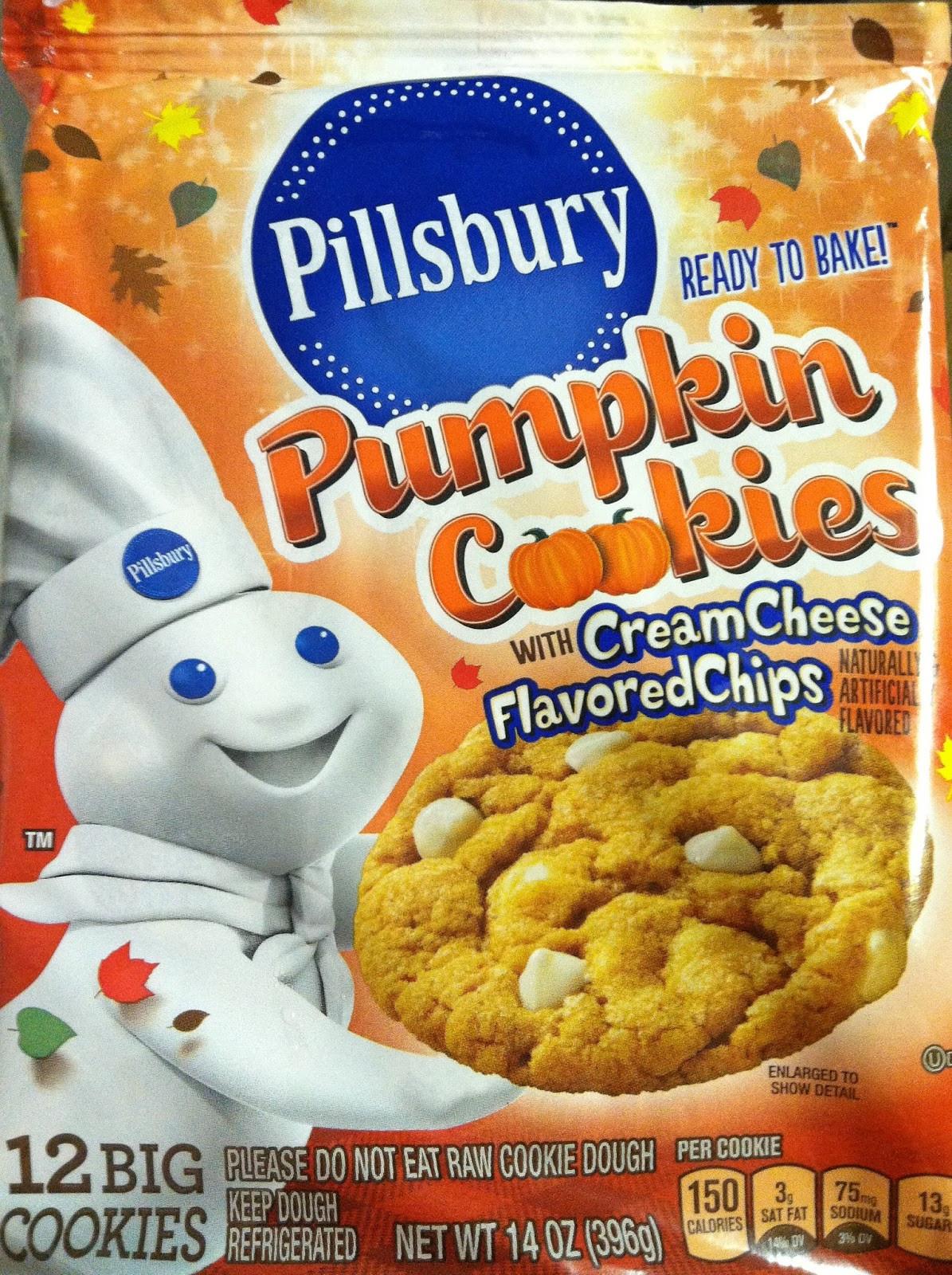 Pillsbury Halloween Cookies Walmart  Pillsbury Pumpkin Cookies ly $0 31