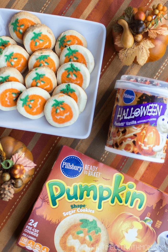Pillsbury Halloween Cookies Walmart  Pumpkin Sandwich Cookies