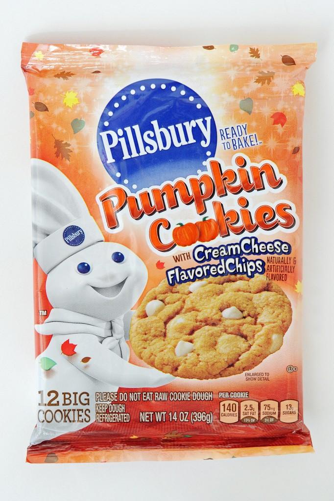 Pillsbury Halloween Cookies Walmart  Tar Pillsbury Pumpkin Cookies ly $0 53