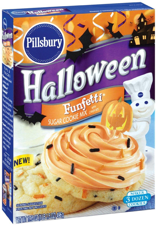 Pillsbury Halloween Sugar Cookies  pillsbury funfetti cookies