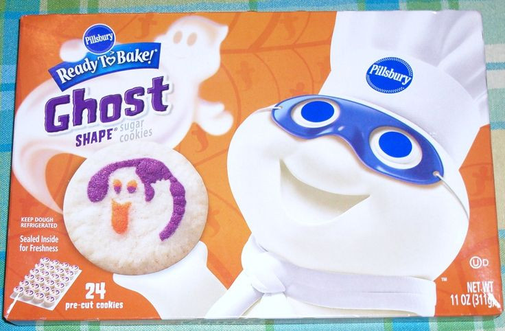 Pillsbury Halloween Sugar Cookies  pillsbury ghost cookies Google Search