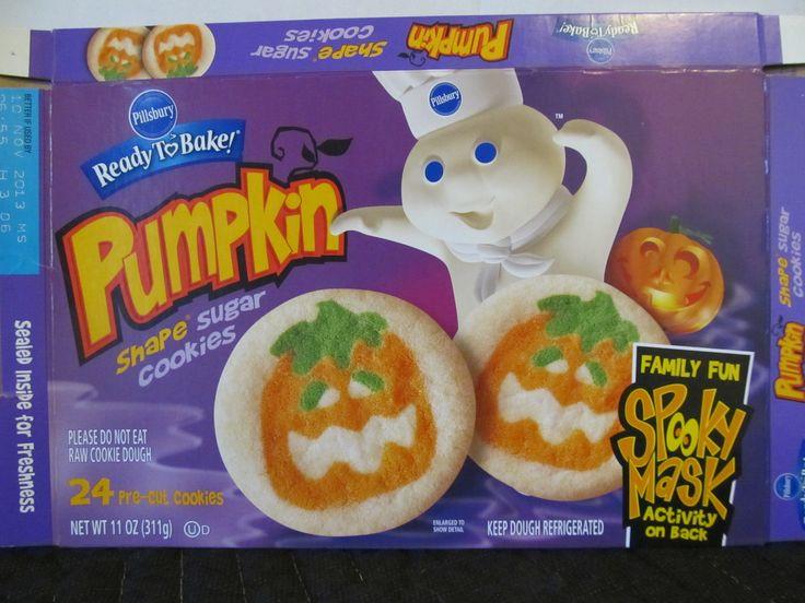 Pillsbury Halloween Sugar Cookies  17 Best images about Halloween Food Packages on Pinterest