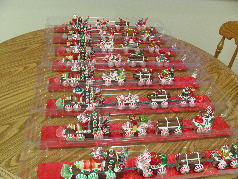 Pinterest Christmas Candy  Christmas Candy Train Christmas items