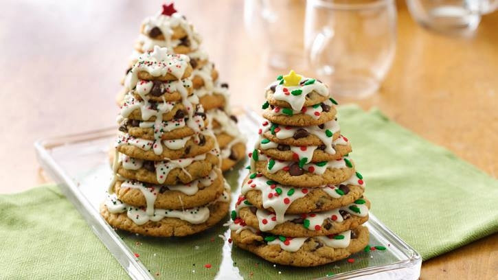 Pinterest Christmas Cookies  Christmas Cookie Trees s and for