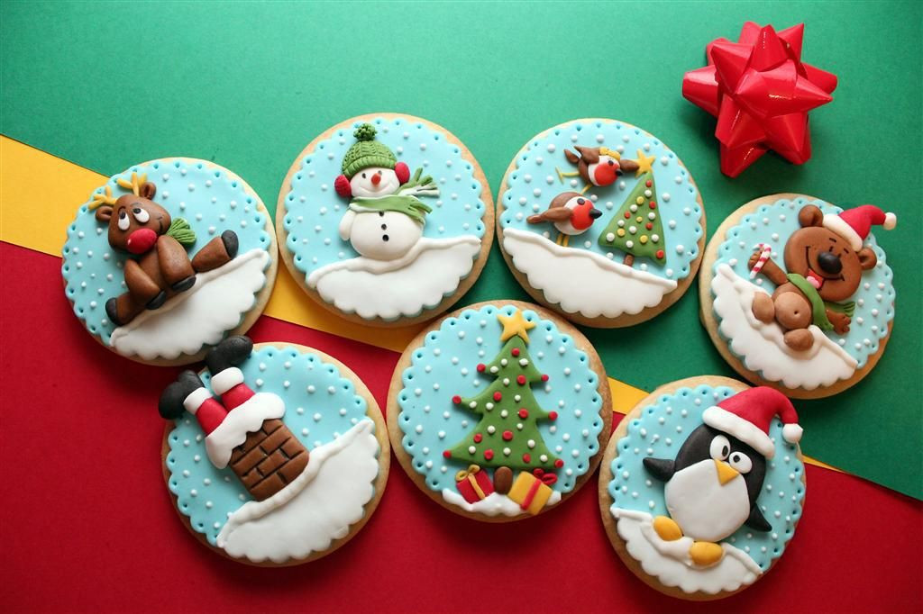 Pinterest Christmas Cookies  Christmas Winter Cookies on Pinterest Christmas Cookies