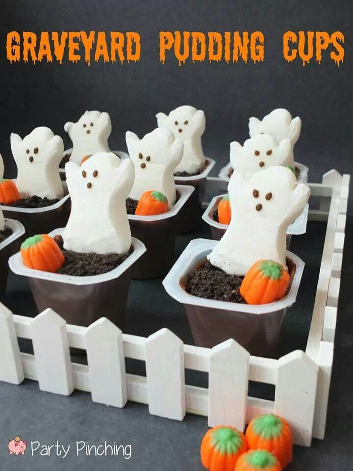 Pinterest Halloween Desserts  Halloween Classroom Crafts & Treats