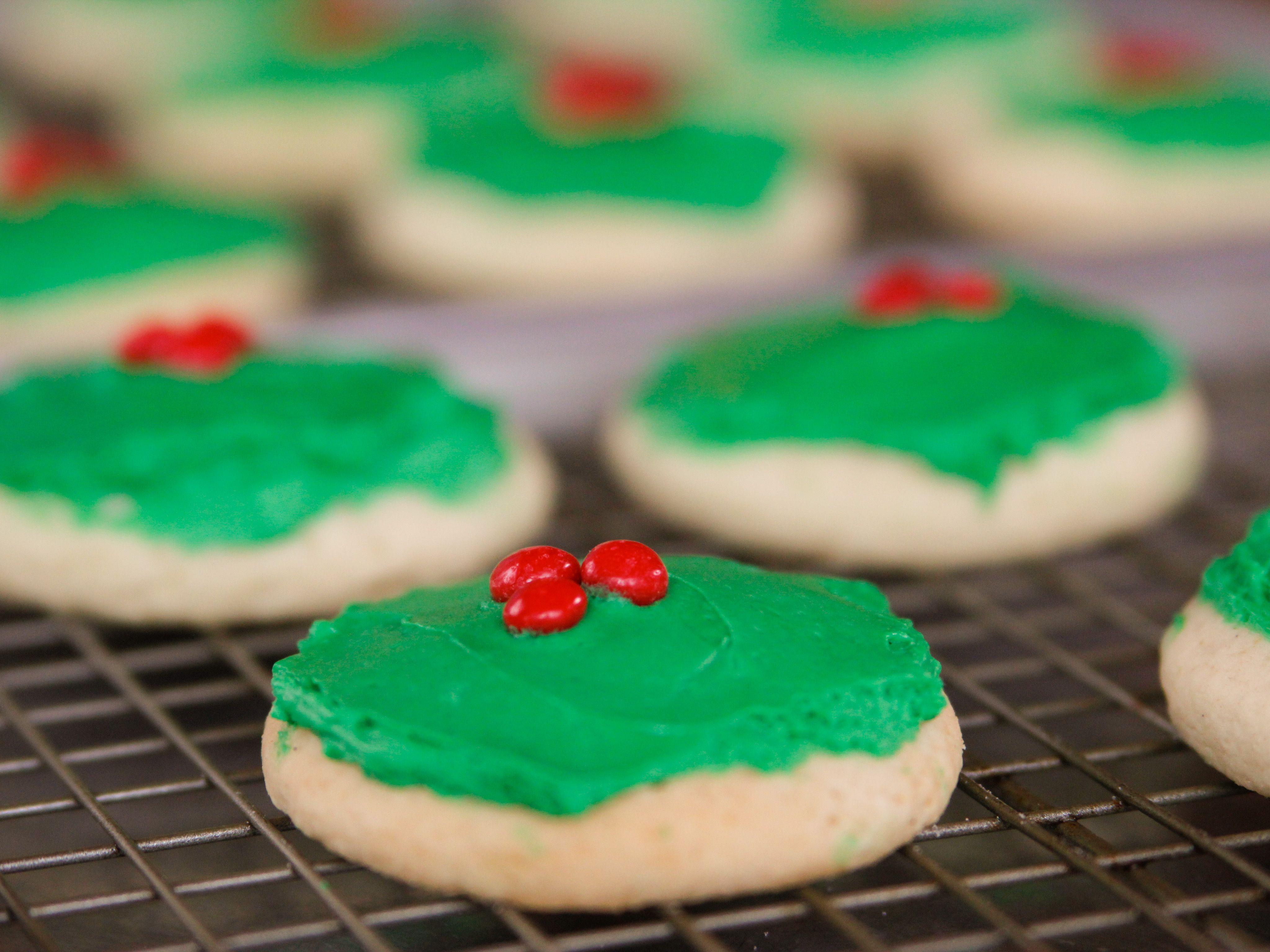 Pioneer Woman Christmas Cake Cookies  Christmas Cake Cookies Recipe Dessert