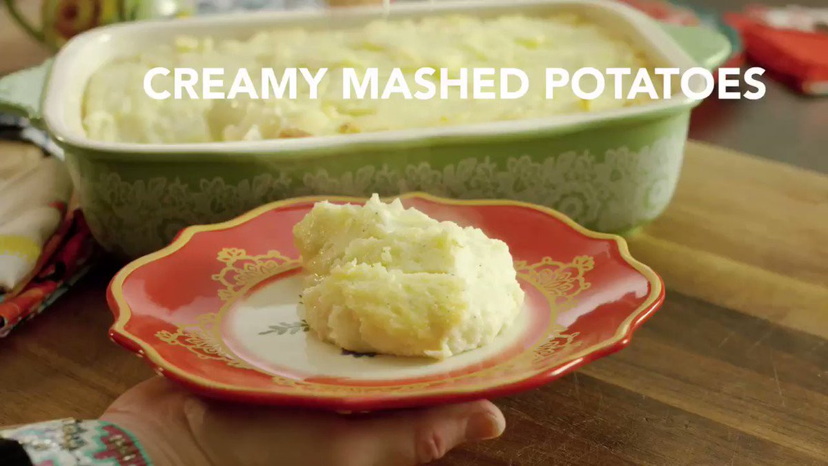 """Pioneer Woman Thanksgiving Mashed Potatoes  Ree Drummond The Pioneer Woman on Twitter """"The tastiest"""