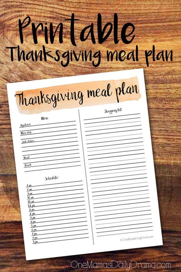 Planning Thanksgiving Dinner Checklist  Best 20 Thanksgiving 2017 ideas on Pinterest