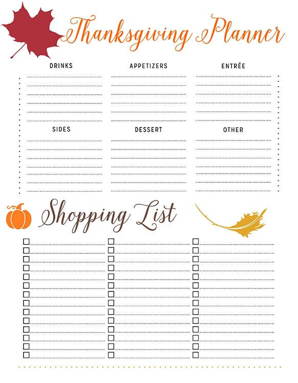 Planning Thanksgiving Dinner Checklist  How to Plan Thanksgiving Dinner So Your Holiday Goes Smoothly