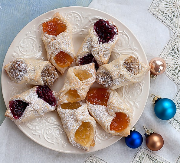 Polish Christmas Cookies  Kolachy