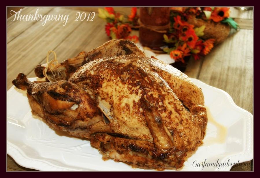 Popeyes Turkey Thanksgiving  2012 Thanksgiving turkey from Popeye s $39 99 turkey