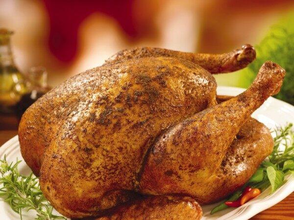 Popeyes Turkey Thanksgiving  Fox & Food Deep Fried Turkey