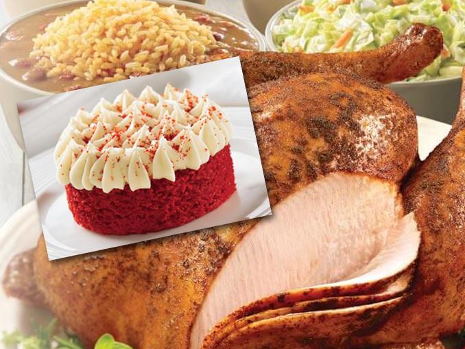 Popeyes Turkey Thanksgiving  Popeyes Cajun Turkeys And New Red Velvet Cake Now