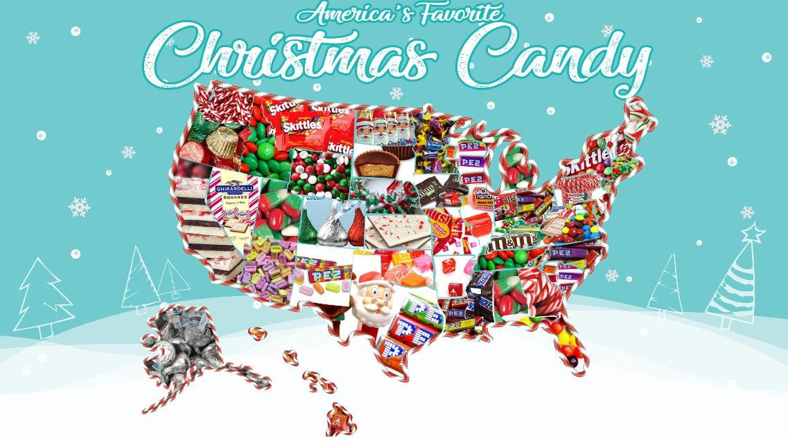 Popular Christmas Candy  Most popular Christmas candy by state KXXV Central Texas