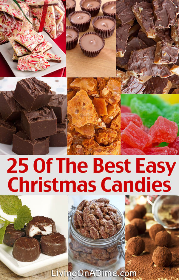 Popular Christmas Candy  25 of the Best Easy Christmas Candy Recipes And Tips