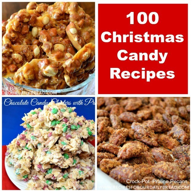 Popular Christmas Candy  BEST CHRISTMAS CANDY RECIPES ROUNDUP