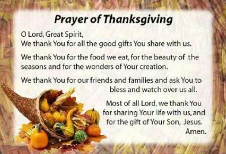 Prayer For Thanksgiving Dinner  17 Best images about Thanksgiving poems on Pinterest