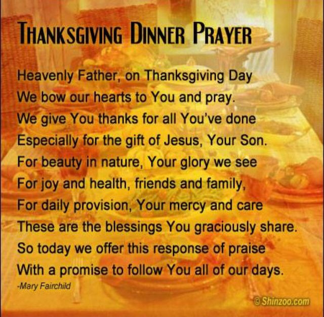 Prayer For Thanksgiving Dinner  17 Best ideas about Dinner Prayer on Pinterest