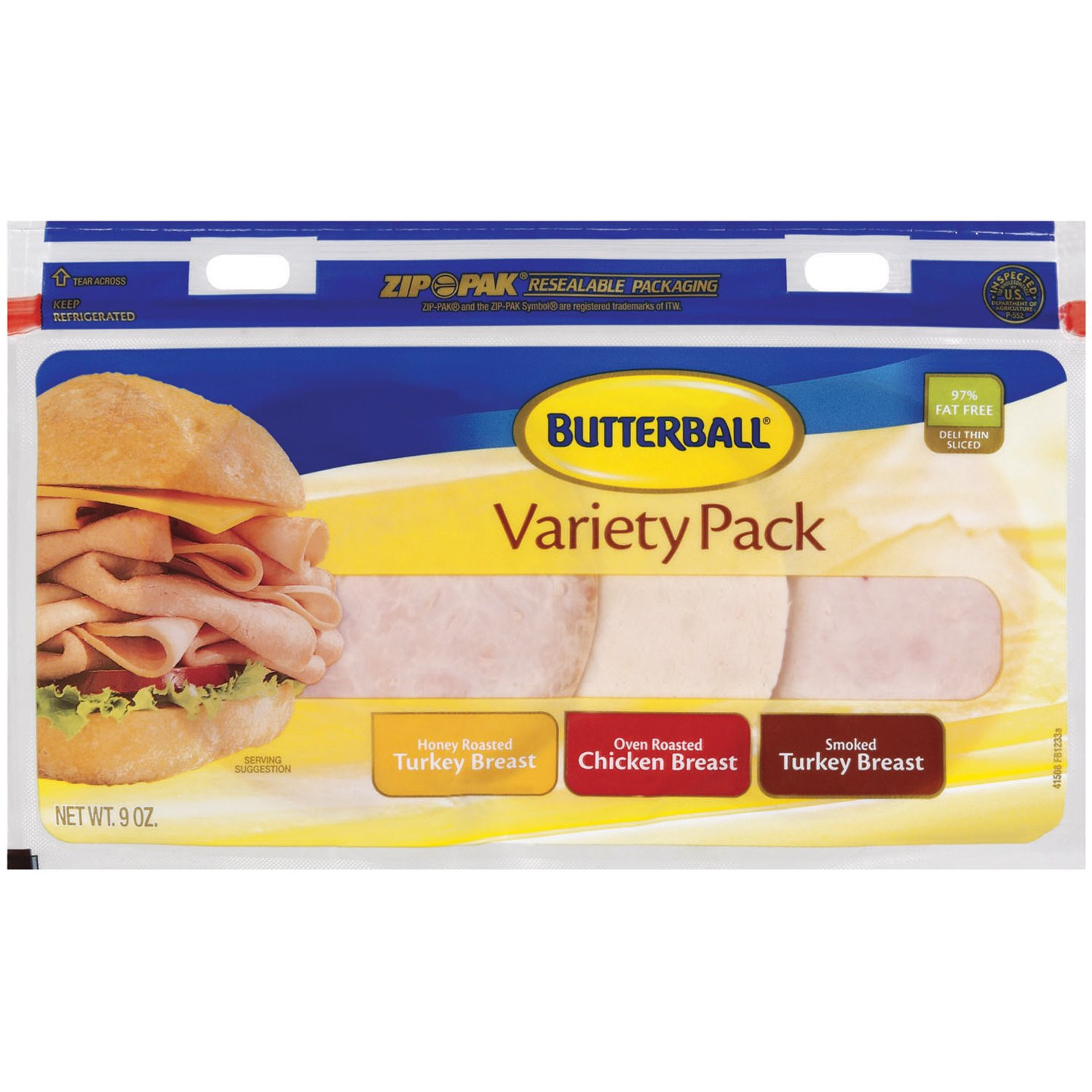 Pre Cooked Thanksgiving Dinner Walmart  Butterball Every Day Original Fully Cooked Turkey Bacon 3