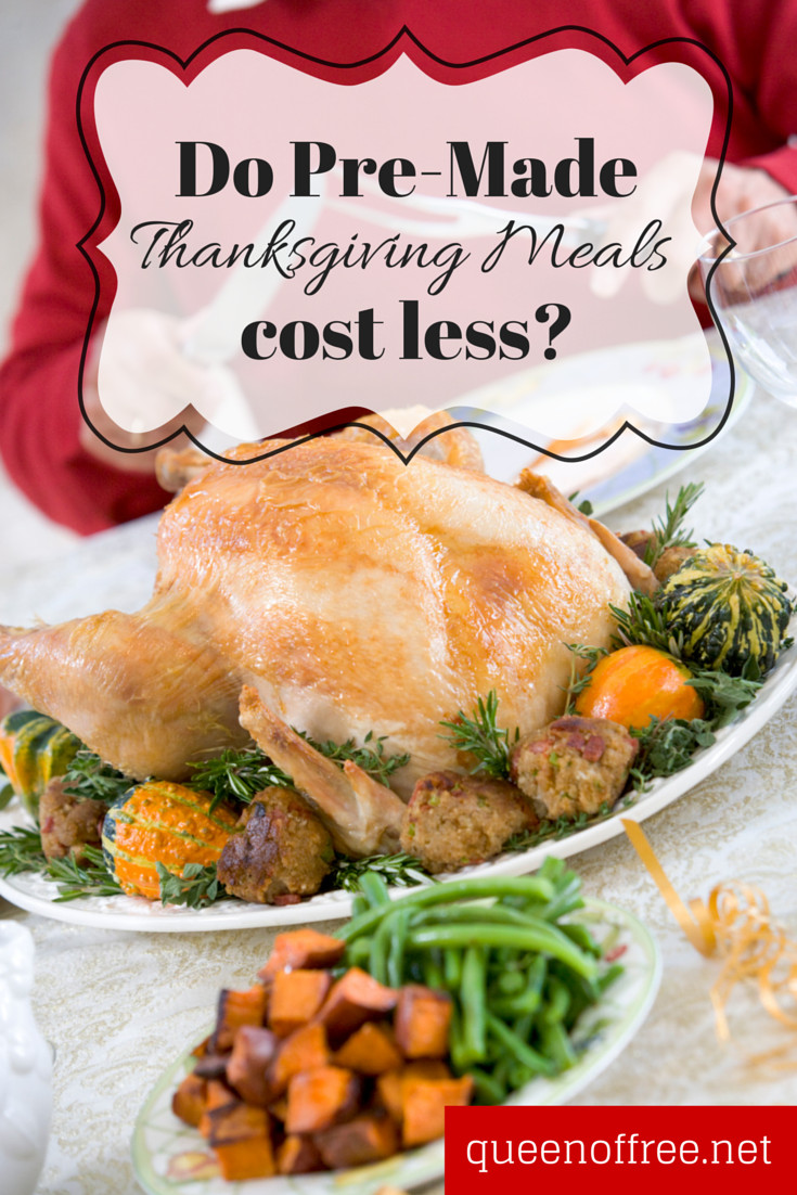 Pre Made Thanksgiving Dinners  Could Thanksgiving Meals to Go Be Cheaper