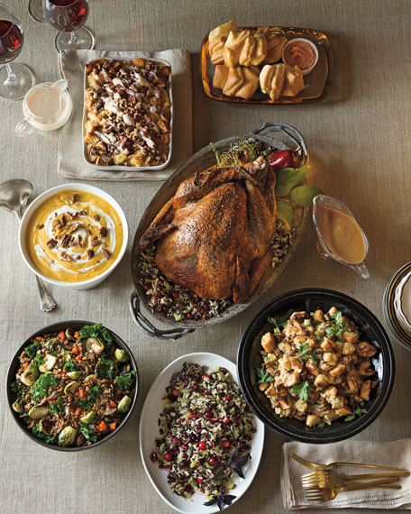 Pre Made Thanksgiving Dinners  Neiman Marcus offers holiday turkey dinner for $495 plus