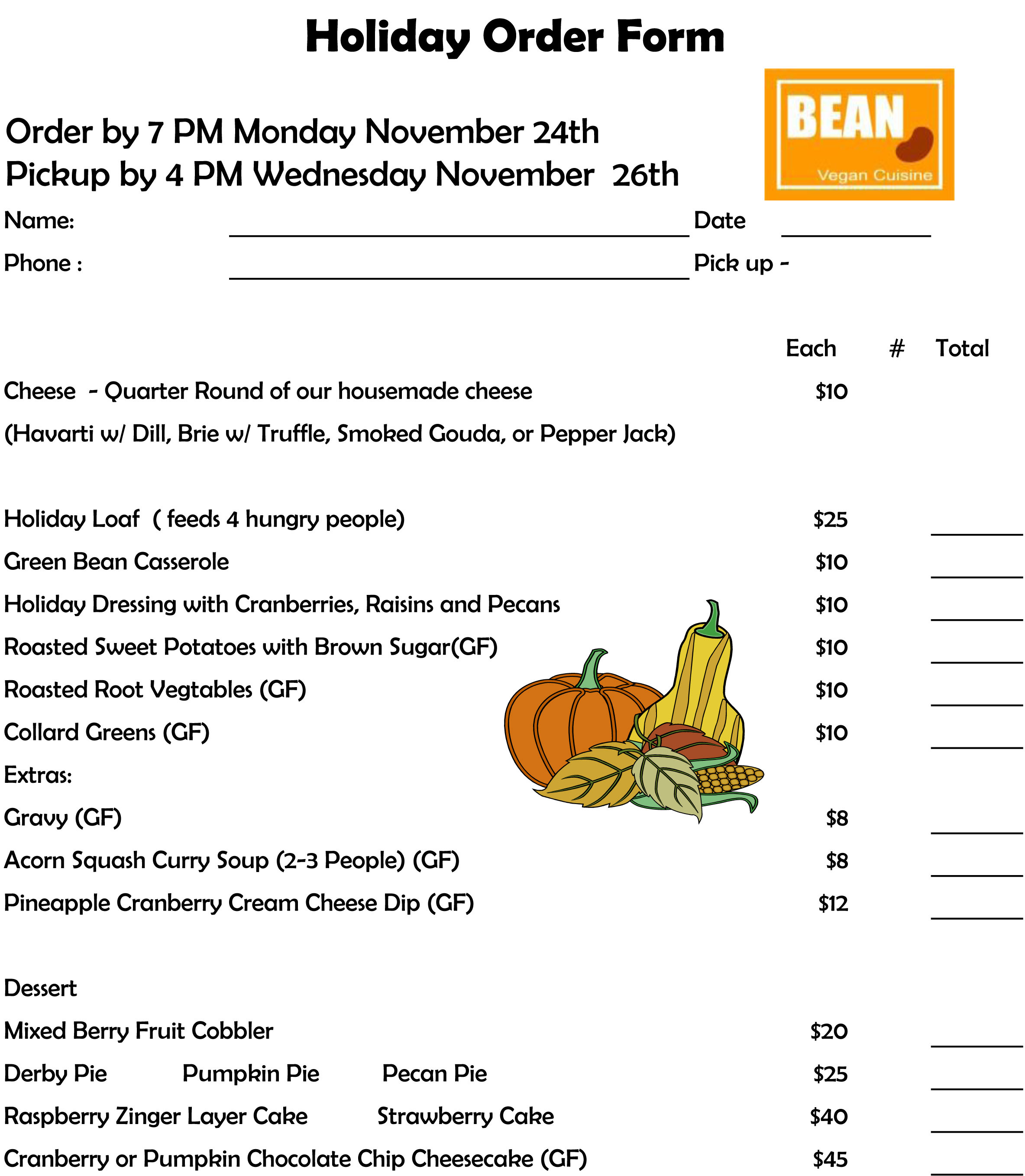 Pre Order Thanksgiving Turkey  Vegan Thanksgiving Options in Charlotte Part II Bean