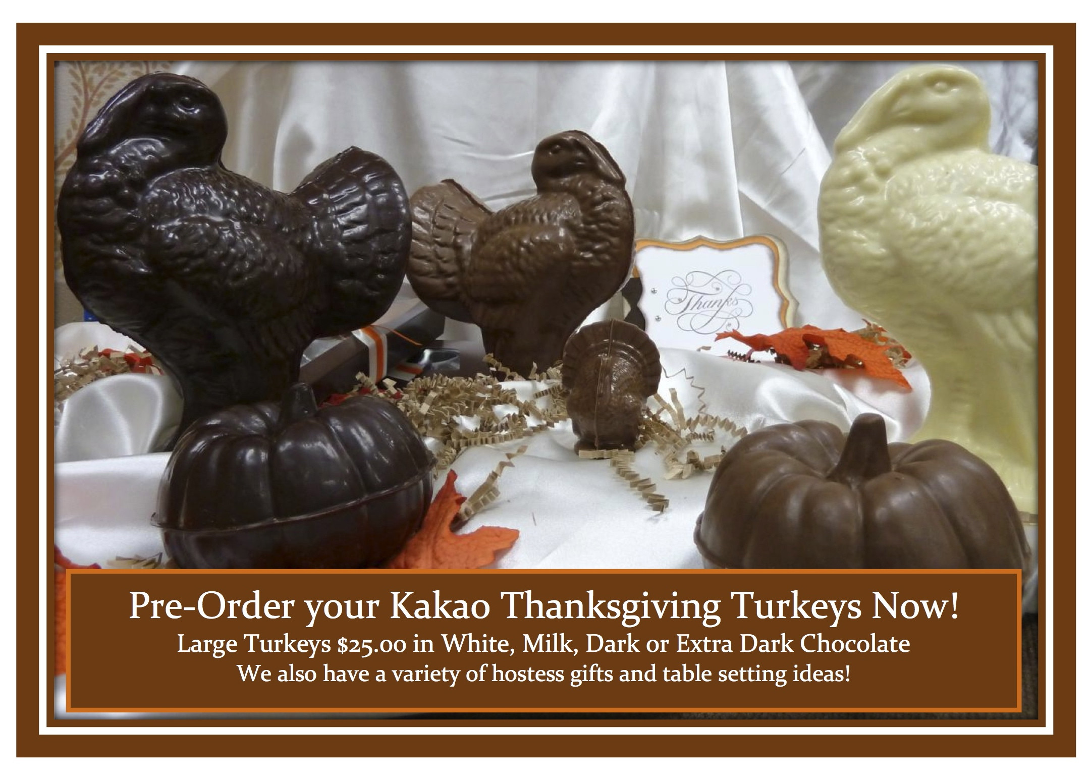 Pre Order Thanksgiving Turkey  Image