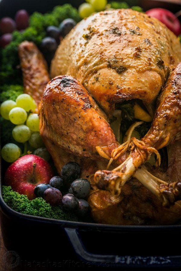 Precooked Thanksgiving Turkey  Thanksgiving Turkey Recipe VIDEO NatashasKitchen